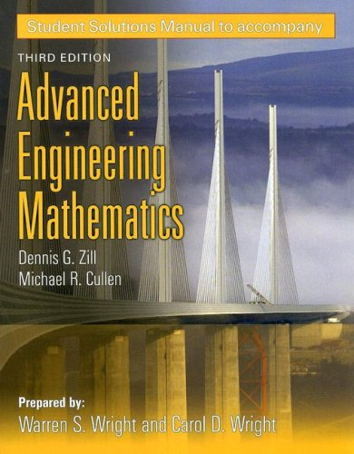 Student Solutions Manual to accompany Advanced...