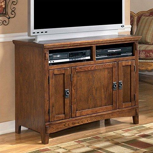 Ashley Furniture Cross Island 42 TV Stand Medium Brown