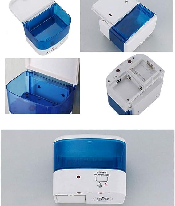 LanfengEU Dispenser Automatico di Sapone e lozione 400ML con batteri di Controllo del sensore a infrarossi Senza Contatto per Cucina o Bagno
