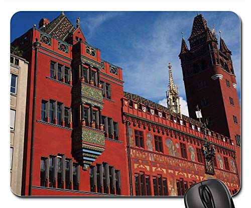 - Mouse Pad - Basel City Hall Town Hall Basel Building 1