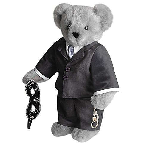 Vermont Teddy Bear - Limited Edition Fifty Shades of Grey Movie Teddy Bear, 15 inches, Made in USA made in New England