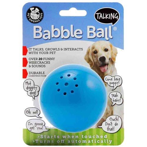 (Pet Qwerks Talking Babble Ball Medium)