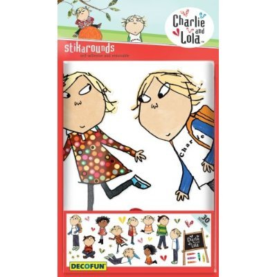 Great Charlie And Lola Stikarounds Bedroom Wall Stickers Amazon Part 12
