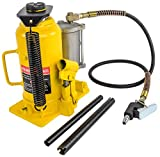 JEGS Performance Products 79009 Bottle Jack Air Assist Capacity: 20 Ton Lift Hei