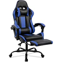 Artiss Gaming Chair Office Computer Racing PU Leather Adjustable Executive Chair with Armrest Highback
