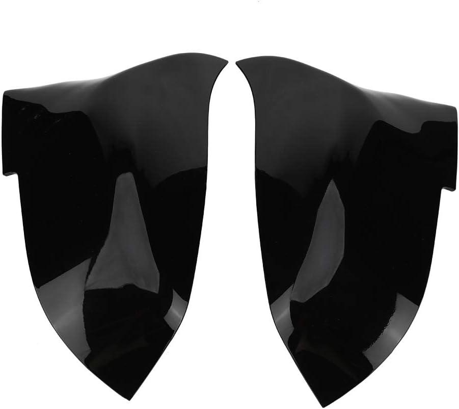 Akozon Paire de coques de r/étroviseurs Noir brillant ou noir mat pour 220i 328i 420i F20 F21 F22 F30 F32 F33 F36 X1 E84