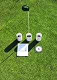 Practice Putting Green - Natural or Synthetic - Accessory Kit - [3] 6''Cups & EPG Marker