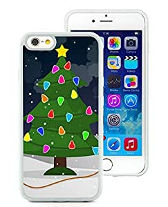 Personalize offerings iPhone 6 Case,Christmas Tree White iPhone 6 4.7 Inch Case 31