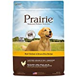 Prairie Real Chicken & Brown Rice Recipe Natural Dry Dog Food By Nature'S Variety, 27 Lb. Bag Review