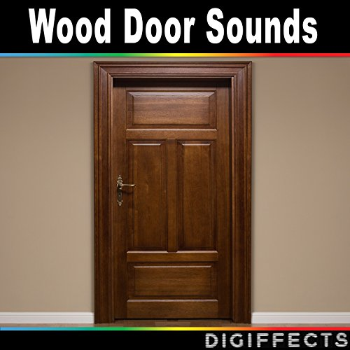 Front wood door open and close by digiffects sound effects for Door opening sound effect
