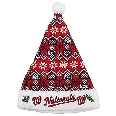 Washington Nationals 2015 Knit Santa Hat