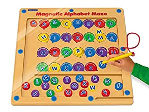 Magnetic Alphabet Maze by Lakeshore Learning Materials