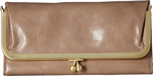 Hobo Womens Rachel Vintage Wallet Leather Clutch Purse (Ash) by HOBO
