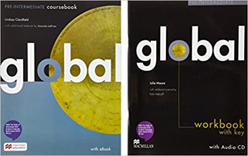 Global pre intermediate package students book with ebook and global pre intermediate package students book with ebook and print workbook livros na amazon brasil 9783195329804 fandeluxe Choice Image