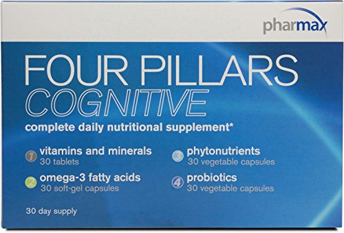 Pharmax – Four Pillars Cognitive – Complete Daily Nutrition Emphasizing Cognitive Health – 30 Day Pack