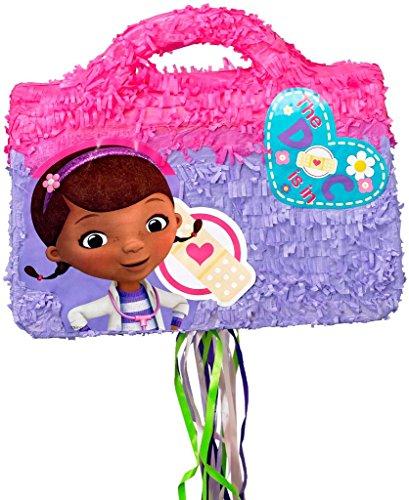 Disney Junior Doc McStuffins Doctor Bag 3D Pull-String Pinata]()