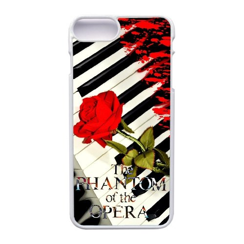 (Apple iphone 7 Plus (5.5 inch) Case, The Phantom Of The Opera Phone Case for Apple iphone 7 Plus (5.5 inch) White Plastic Ultra Slim Cover Case GHST1139751)
