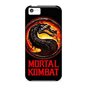 CristinaKlengenberg Iphone 5c Scratch Protection Phone Cover Allow Personal Design Colorful Mortal Kombat Good Image [MLG2017ECrJ]