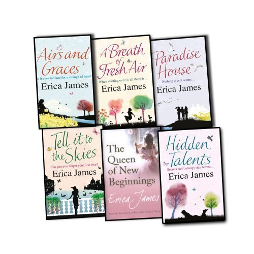 Erica James 6 Books Collection Pack Set RRP: 41.94 (Airs and Graces, A Breat...
