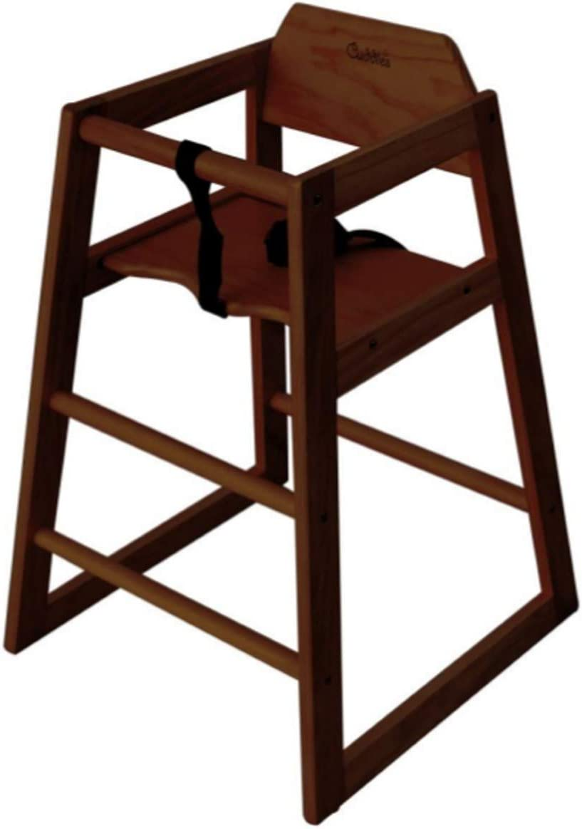 STACKABLE WOODEN BABY CHILDRENS FEEDING HIGHCHAIR HIGH CHAIR BABY SEAT IDEAL FOR BOTH HOME & COMMERCIAL RESTAURANTS