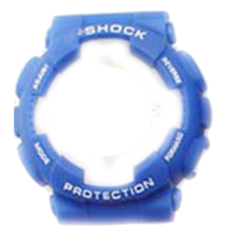 zhuolei 29 x 16 mmプラスチックWatch Case &バンドストラップGeneric for Casio G Shock ga-110 ga100 gd-120スタイル blue case blue band red letter B077J1GFJM