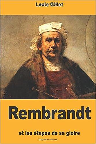 rembrandt et les tapes de sa gloire french edition