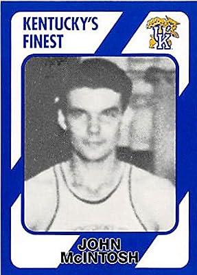 John McIntosh Basketball Card (Kentucky Wildcats) 1989 Collegiate Collection #198
