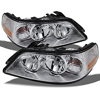 Amazon Com Lincoln Town Car Halogen Type Replacement Chrome