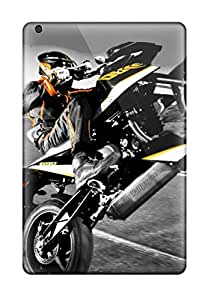 Unique Design Ipad Mini/mini 2 Durable Tpu Case Cover Ktm 690 Duke Wheelie