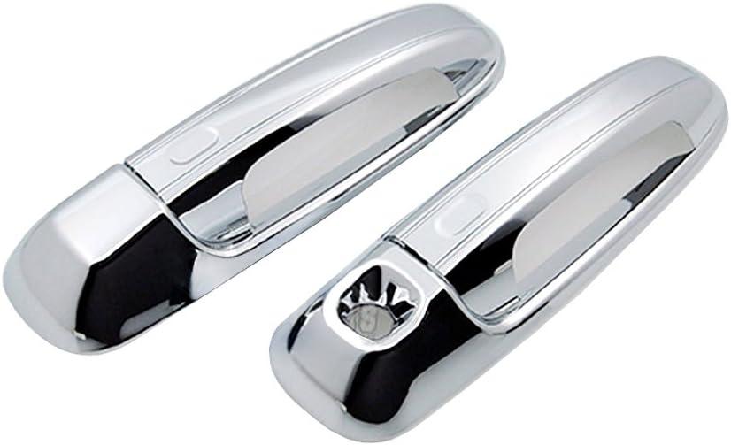 02-08 Dodge Ram Chrome Triple plated 2 Door Handle W//O Passenger Keyhole Cover