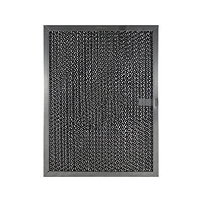 """Air Filter Factory Compatible Replacement for Broan Nutone LL62F, LL6200, MM 6500 Aluminum Grease Mesh Charcoal Carbon Combo Range Hood Filter 8-1/2"""" x 11-1/4"""" x 3/8"""" AFF105-CMB"""