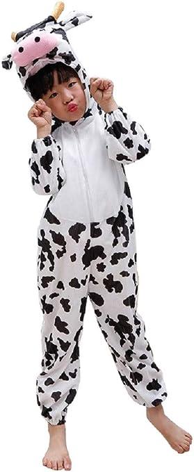 Lovelegis (Talla l) Disfraz de Vaca - 4/5 años - Disfraz Carnaval ...