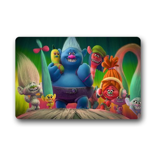 Animated Troll Movies Childrens Area Rug 23.5 x 15.75 inches