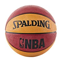 Spalding NBA Mini Baloncesto - Rojo /Naranja