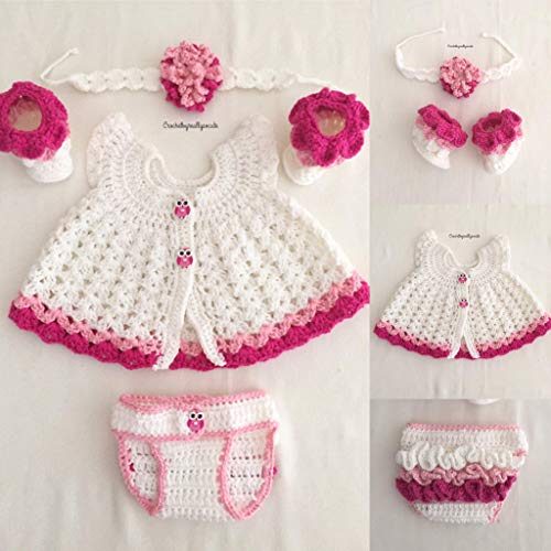 c6384a7df14bb Amazon.com: baby girl pink set, baby girl outfit, ruffled baby ...
