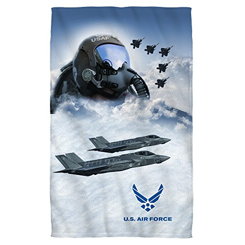 United States Air Force Fighter Jet Pilot & Take Off Bath To
