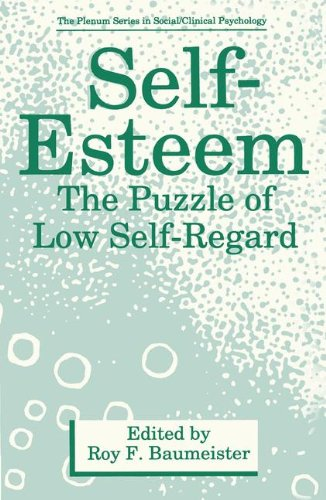 Self-Esteem: The Puzzle of Low Self-Regard (The Plenum Series in Social/Clinical Psychology)