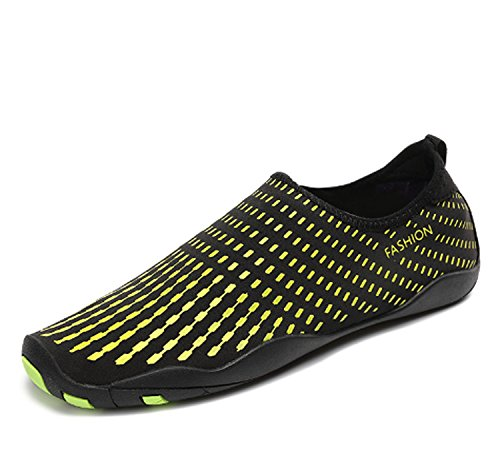 Yoga da Scarpe la passeggio donna Scarpe morbida da da Scarpe da nuoto suola sportive Scarpe sub Gym antiscivolo Summer Yellow con qf4q0