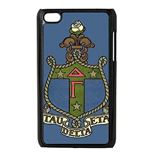 iPod Touch 4 Case Black Delta Gamma OJ515685