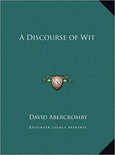 A Discourse of Wit