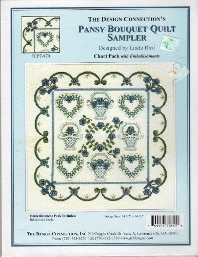 - Pansy Bouquet Quilt Sampler