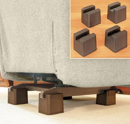Harriet carter recliner risers furniture risers for Chair risers