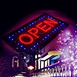 Finlon Bright LED 2 in1 Open & Closed Store Shop Business Sign 9.820.47'' Display neon