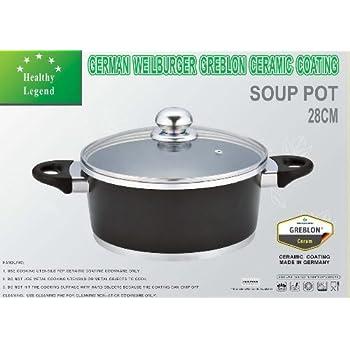 Amazon Com 7 1 Quart Stock Pot Soup Pot With Non Stick