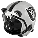 NFL Oakland Raiders Resin Large Helmet Piggy Bank