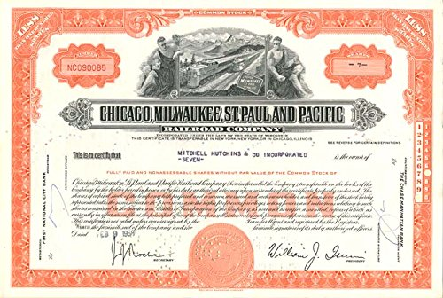 Chicago, Milwaukee, St. Paul and Pacific Railroad Company ()