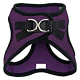 Voyager Step-in Air Dog Harness - All Weather Mesh, Step in Vest Harness for Small and Medium Dogs by Best Pet Supplies - Purple, Large