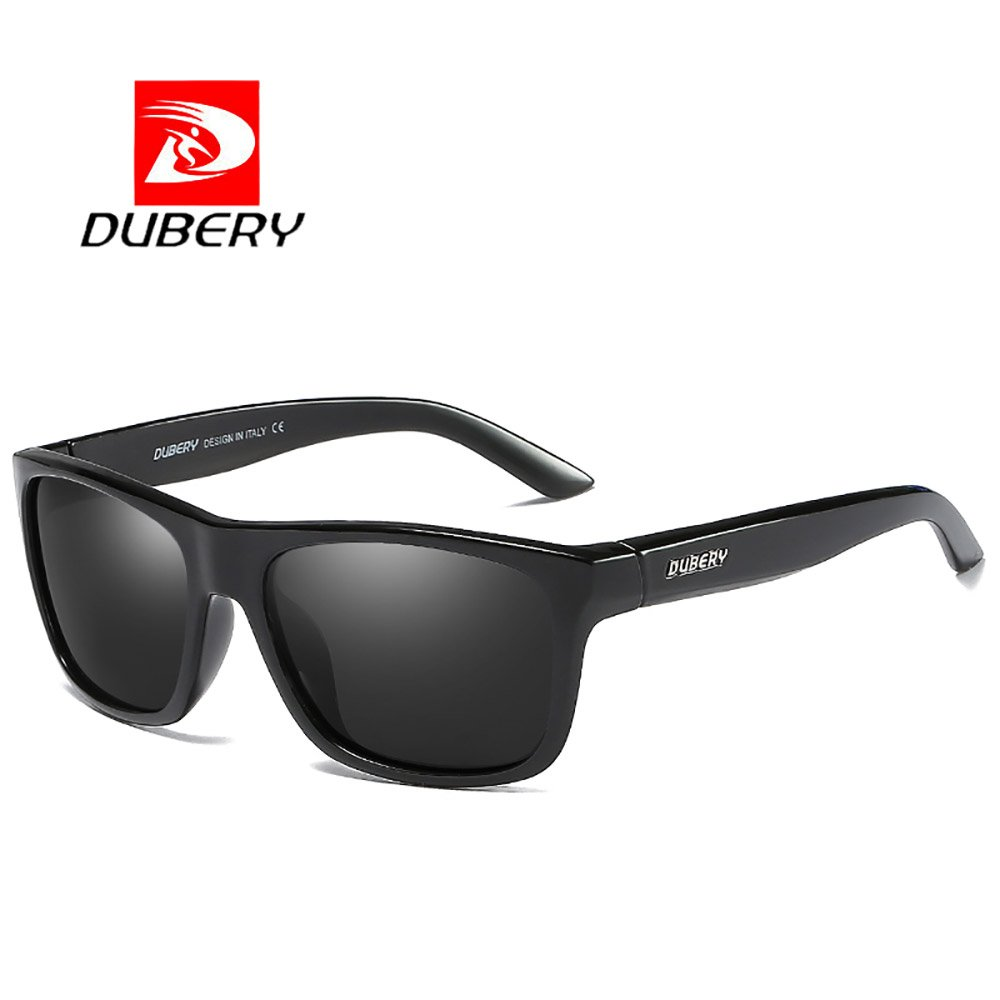 DUBERY Fashion Men Polarized Outdoor Sport Sunglasses Driving Summer Goggles (#1)