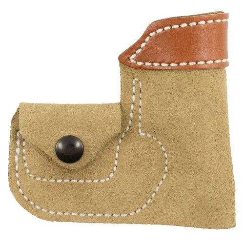 Desantis Leather Ambidextrous Pocket Holster, Tan