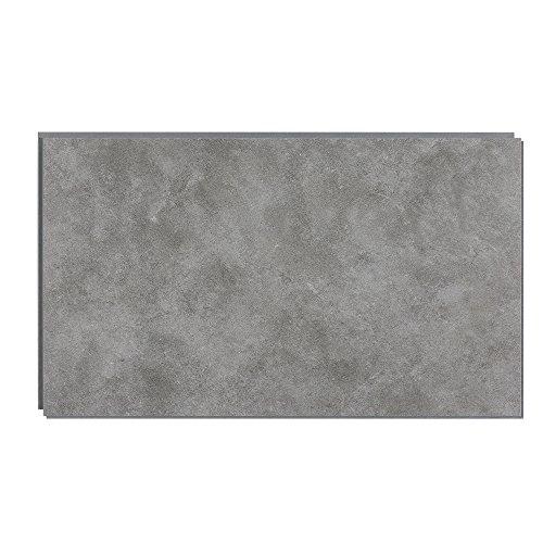 DumaWall 14.76 in. x 25.59 in. Vinyl Interlocking Waterproof Wall Tile/Backsplash (8 Pack) (Smoked Steel)